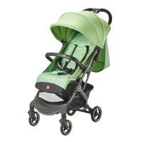 gb好孩子 婴儿车 可坐可平躺 背带可调节 前扶手可拆卸 单手刹车 轻便儿童推车 绿色 D619-R205GG