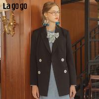 La·go·go 拉谷谷 CWW338A42 女士休闲外套