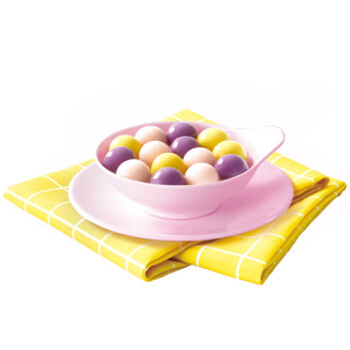 湾仔码头 缤纷芋圆 芋见真心小圆子混合装 360g 黑芝麻 紫薯 红豆 甜品 汤圆 烘培