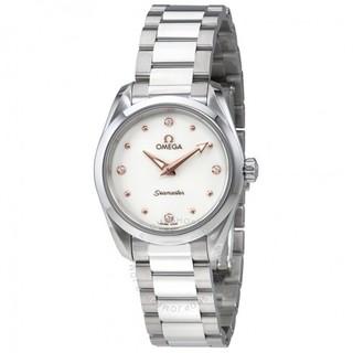 银联爆品日 : OMEGA 欧米茄 海马系列 Aqua Terra 220.10.28.60.54.001 女士时装腕表