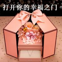 LiYi99 礼意久久 克拉恋人 永生花项链