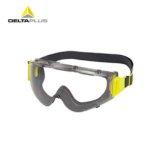 代尔塔 护目镜 橡胶框 防辣 防虫 防飞溅防沙 防花粉 过敏 切洋葱双眼皮术后 遮挡眼镜101141