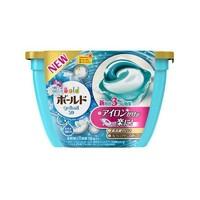 P&G/宝洁 日本原装 柔顺3D洗衣凝珠百合花香型 18粒(包邮)