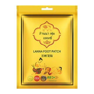 LANNA兰纳足贴 6包60贴超值优惠装 泰国进口 植物配方 男女士睡眠脚贴