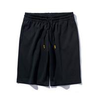 李宁 LI-NING 韦德系列男子短卫裤AKSP129-1 标准黑 XXL