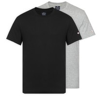 Champion 冠军 213182 男士纯棉圆领短袖T恤 双件装