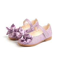OLOEY 新款蝴蝶结皮鞋