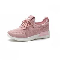 OLOEY 女运动休闲鞋 粉红色
