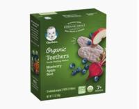 Gerber 嘉宝 有机蓝莓苹果磨牙米饼 3段 48g