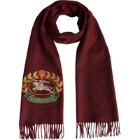 巴宝莉 The Classic Cashmere Scarf with Archive Logo