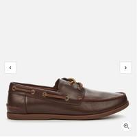 银联爆品日 : Clarks Pickwell Sail 男款真皮休闲鞋