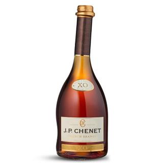 法国原瓶进口红酒 香奈 J.P.CHENET XO白兰地40°双支礼盒装 700ml *2瓶