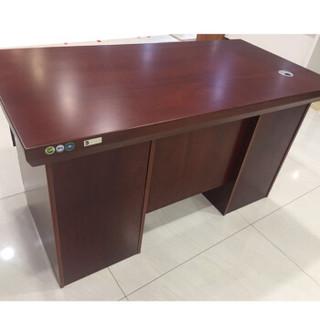 富庆源 电脑桌 办公桌 1.4M胶板电脑桌 胶板电脑桌 B-0051 红棕色