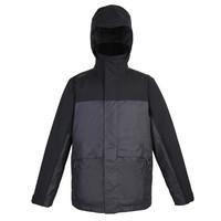 DECATHLON 迪卡侬 男式航海保暖夹克 8394042 黑/灰 S