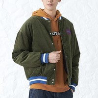 DUSTY DU184PJ013 灯芯绒棒球棉服