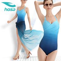 hosa 浩沙 115111330 专业女连体女士泳装 *2件