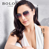 BOLON 暴龙 BL7126A30 方框太阳镜
