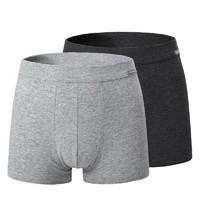 SCHIESSER 舒雅 E5/10524T  男士95棉平角内裤 2条装 *3件