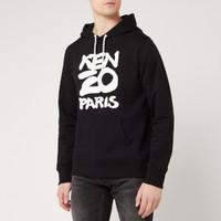 银联爆品日 : KENZO 20SS 字母logo印花 男士连帽卫衣