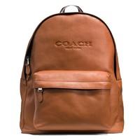 COACH 蔻驰 奢侈品男包 新款男士牛皮双肩包 旅行包 电脑包 F54786