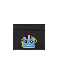 PRADA 普拉达 女士SAFFIANO小牛皮黑色卡包卡夹 1MC025-2CBU-F0LT0