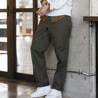 UNIQLO 优衣库 418917 男款无褶直筒长裤