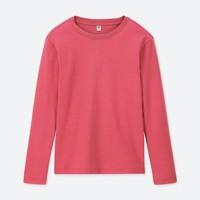 UNIQLO 优衣库 419067 儿童柔软圆领T恤