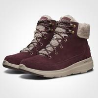 SKECHERS 斯凯奇 16677-L419W177 女士羊羔绒雪地靴