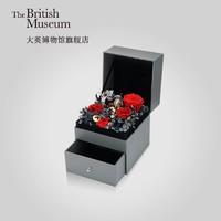 大英博物馆官方挚爱永恒永生花音乐礼盒首饰收纳送女友情人节礼物