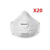 HONEYWELL 霍尼韦尔 高品质带呼气阀防护口罩 FFP2 20只装