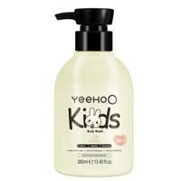 英氏(YEEHOO)儿童沐浴露沐浴液 温和洁净 儿童沐浴乳 380ml *2件