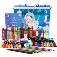 Joan Miro 美乐 儿童绘画礼盒 78件套 *2件