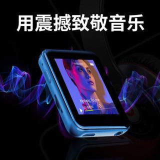 炳捷(BENJIE)MP3/MP4/播放器/电子书/学生小型迷你蓝牙随身听/运动型1.8英寸全面触摸屏 X1 16G蓝牙外放蓝色