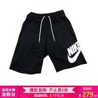 耐克NIKE 男子 休闲短裤 SHORT FT GX 1 NFS 运动短裤 AT5268-010黑色XXL码