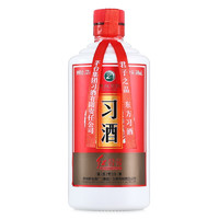 XIJIU 习酒 红习酱 53%vol 酱香型白酒 500ml 单瓶装