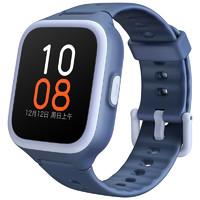 MI 小米 米兔 2S GPS 智能手表 33.2mm 蓝色 蓝色硅胶表带(北斗、GPS、EPO)