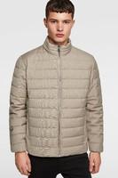 Zara 防水棉服夹克外套