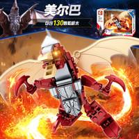 SEMBO 森宝 宇宙英雄奥特曼 怪兽系列 108328 美尔巴(三款可选)