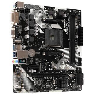 ASRock 华擎 A320M-HDV R4.0 A32026901944主板(AMD AM4、A320)