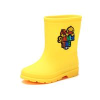 B.DUCK小黄鸭 儿童雨靴