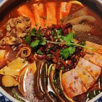 5公里内免费送 上海红辣椒川菜馆 7店通用 2-3人套餐