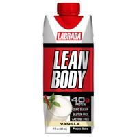Labrada 高蛋白营养代餐液体即饮奶昔500ml 香草味  *10件