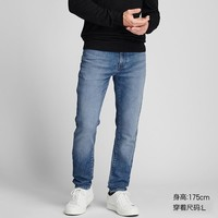 UNIQLO/优衣库 男装 EZY DENIM牛仔裤(水洗产品) 418913