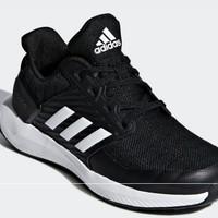 adidas 阿迪达斯 小童跑步儿童鞋 CM8489 黑色 28
