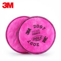 3M 2097 防尘滤棉 2片