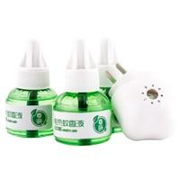 巴比诺 电热蚊香液 3瓶 1器