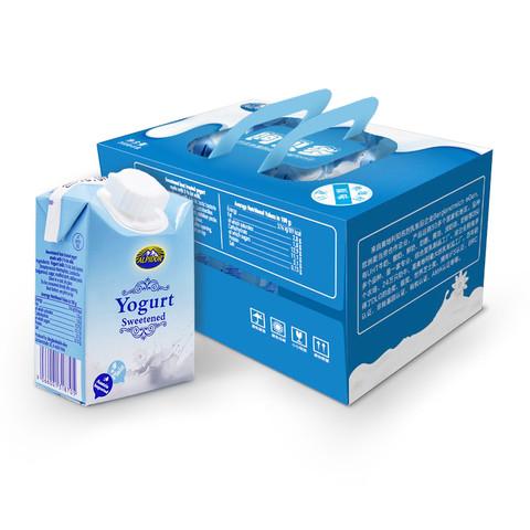 88VIP:阿贝多 原味酸奶牛奶 200g*9盒 *6件
