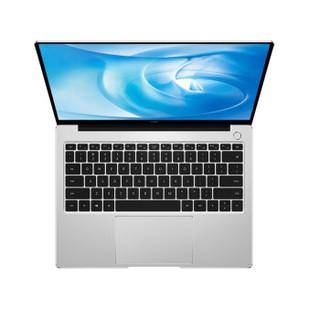 HUAWEI 华为 MateBook 14 2020款 14英寸 笔记本电脑 银色 i5-10210U 8GB 512GB MX250 2K触控屏