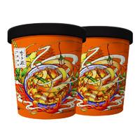 李子柒 红油面皮 方便面 250g*2杯
