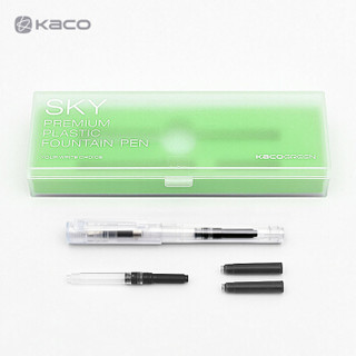 KACO 文采 SKY百锋钢笔 笔类 透明 EF尖
